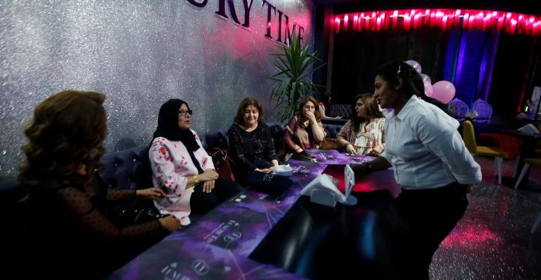 المقهى النسائي في العراق