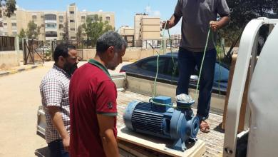 Photo of بنغازي.. عودة تدفق المياه لحي الـ7000