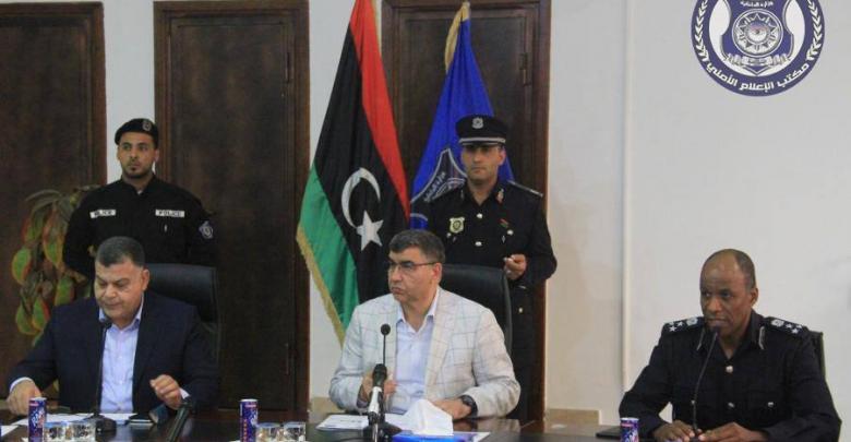 وزير الداخلية المفوض بحكومة الوفاق العميد عبدالسلام عاشور