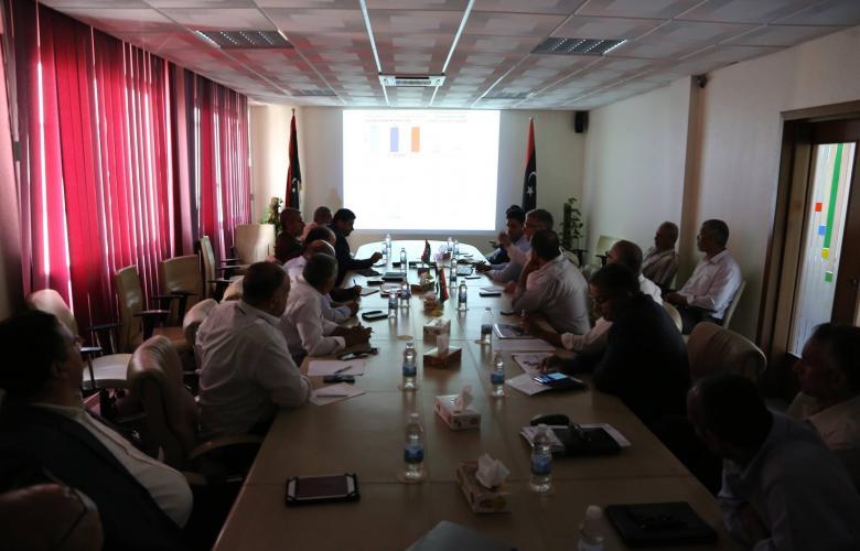 عمداء بلدية طرابلس الكبرى الشركة العامة للكهرباء