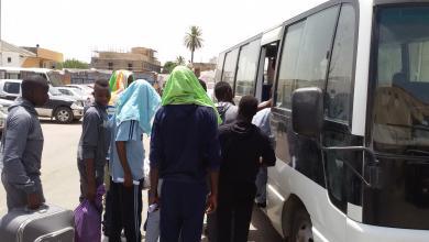 نزلاء جهاز مكافحة الهجرة غير الشرعية فرع طرابلس طريق السكة