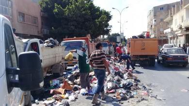 Photo of تكثيف العمل لحل أزمة القمامة في بنغازي