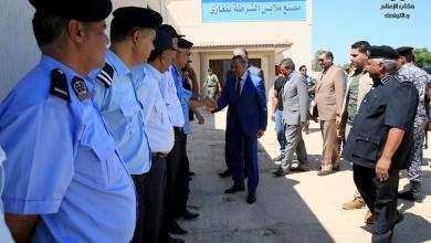 مصنع ملابس الشرطة في بنغازي