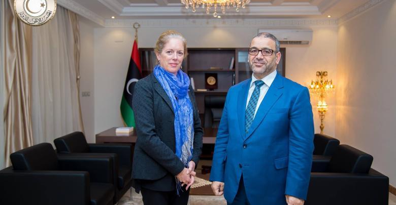 خالد المشري و ستيفاني وليامز