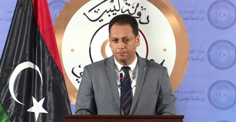 الناطق الرسمي باسم رئيس المجلس الرئاسي، محمد السلاك
