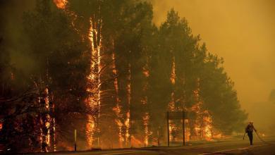 حرائق بولاية كولورادو الأميركية
