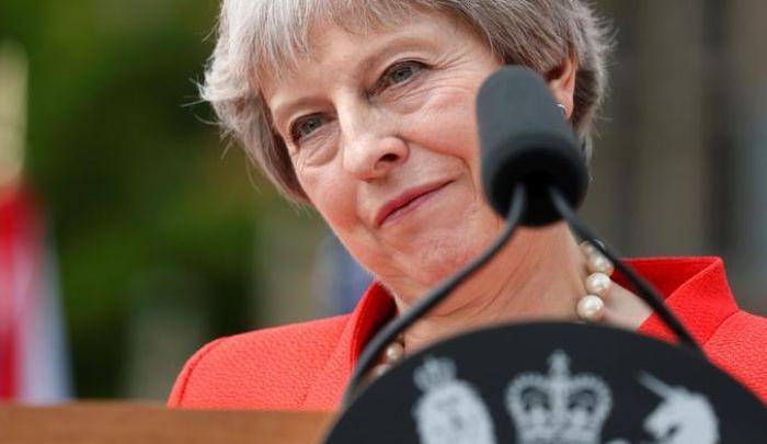 رئيسة وزراء بريطانيا تيريزا ماي