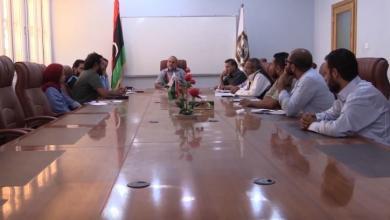 الوفد الميداني من المفوضية السامية لشؤون اللاجئين في ليبيا - الزنتان