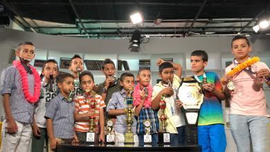 أبطال ليبيا ببطولة المواي تاي