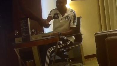 الحكم الكيني ماروا رانجي يتلقى رشوة الصورة من BBC