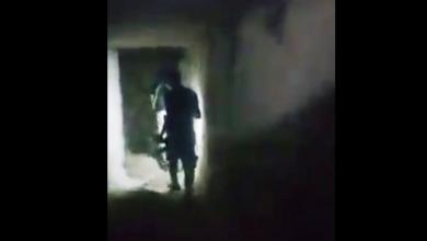 قوات الجيش الوطني خلال قيامها بعمليات تمشيط مدينة درنة