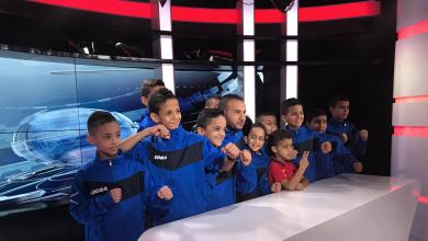 أطفال المواي تاي المشاركين في البطولة العربية