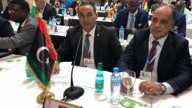اللجنة الأولمبية الليبية في اجتماع اللجان الأولمبية الأفريقية (آنوكا)