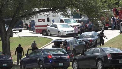 "Photo of ""اشتباك مسلح"" في شوارع كانساس الأميركية"