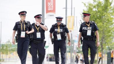 صورة الشرطة الكندية تُكذّب داعش