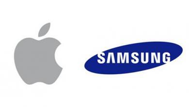 شعاري سامسونغ وآبل