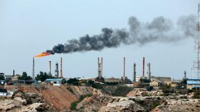 انفجار خزان نفط وسط إيران