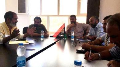 اجتماع في زوارة لبطولة شيخ الشهداء لكرة الصالات