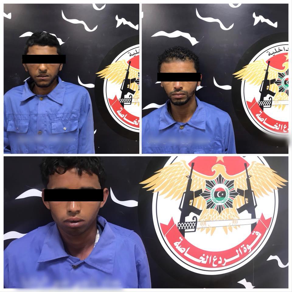 المتهمين في تنفيذ جريمة قتل التوأمين حسن وحسين بالحاج