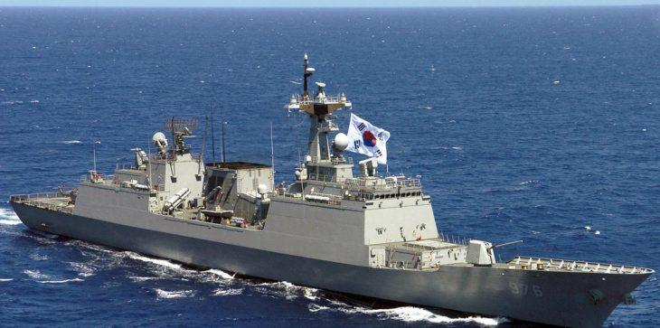 سفينة حربية كورية جنوبية