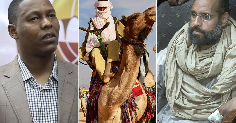 سيف الإسلام القذافي - الطوارق - النائب صالح همة
