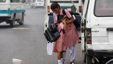 صورة هجمات إرهابية على مدارس للبنات في باكستان