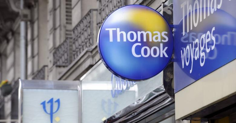"""شركة السياحة البريطانية """"توماس كوك"""""""