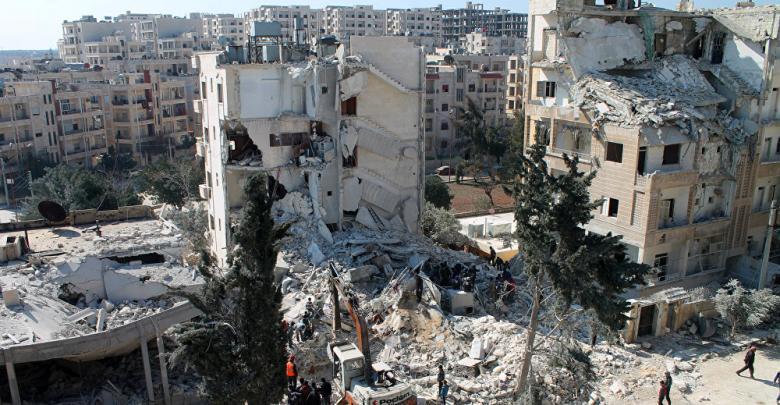 إدلب سوريا - أرشيفية