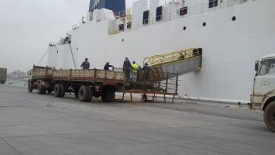 Photo of وصول آلاف الأغنام إلى ميناء طرابلس