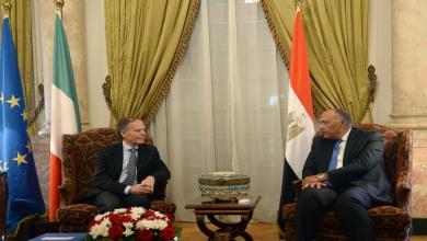 صورة اجتماعات إيطالية مصرية بشأن ليبيا