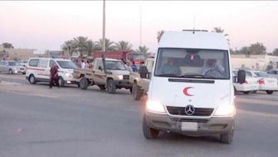 صورة استعدادات لاستقبال ضحايا اشتباكات طرابلس