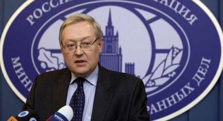 وزير الخارجية سيرجي ريابكوف