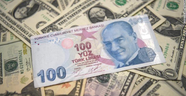 الليرة التركية والدولار