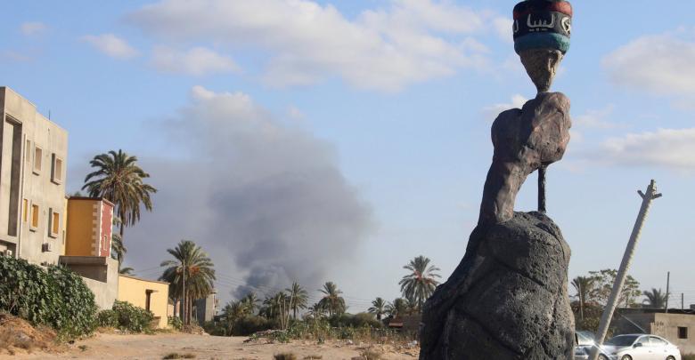 طرابلس - أثناء الاشتباكات