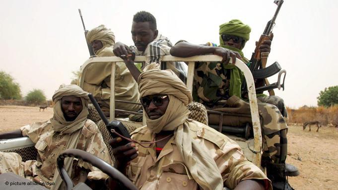 الجماعات المسلحة في دارفور