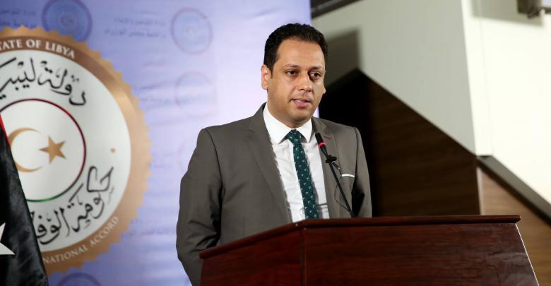 الناطق باسم رئيس المجلس الرئاسي محمد السلاك