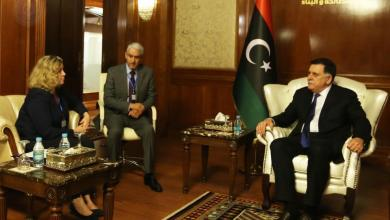 Photo of السراج يُناقش الدور البريطاني في ليبيا