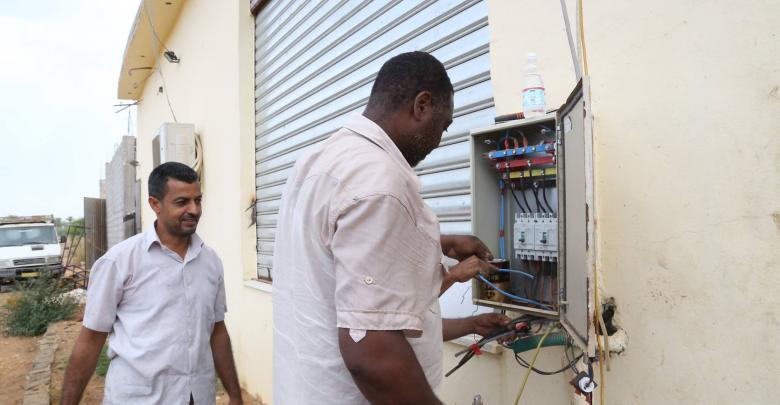 إزالة التوصيلات الكهربائية غير القانونية