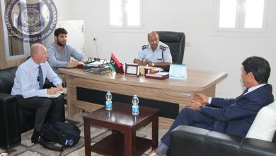 صورة الانتربول يدرس تدريب أمن السواحل الليبي