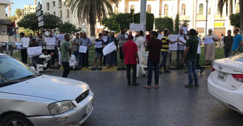 مظاهرات طرابلس