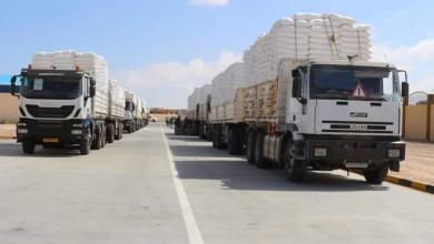 Photo of المؤقتة: شحنات دقيق لمخابز الزنتان والرجبان