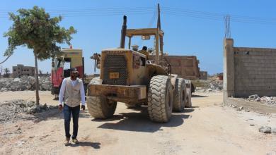 إعمار بنغازي - ارشيفية