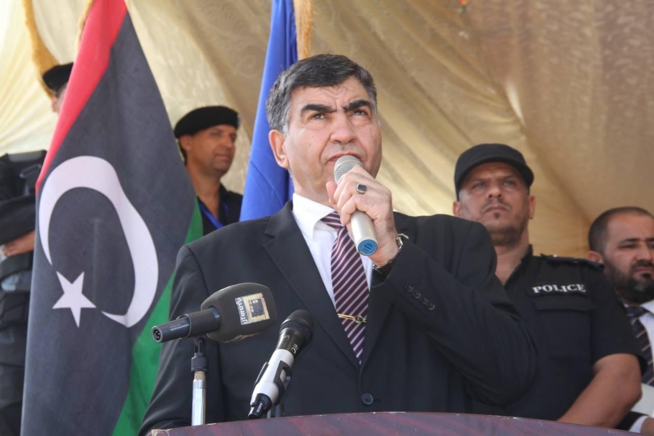 وزير الداخلية المفوض بحكومة الوفاق الوطني العميد عبد السلام عاشور