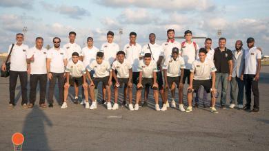 Photo of المنتخب الوطني لكرة السلة يصل تونس