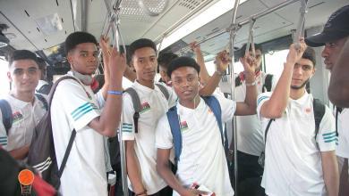 بعثة المنتخب الليبي لكرة السلة تحت 18 عاماً