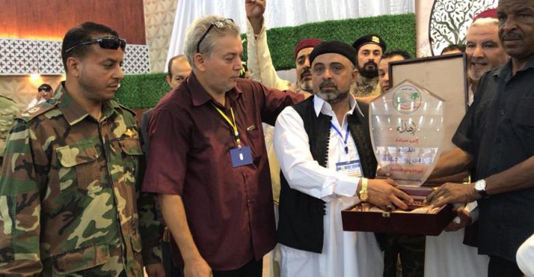 تكريم شهداء قبائل مصراتة في المنطقة الشرقية