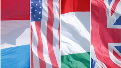 فرنسا وإيطاليا والمملكة المتحدة والولايات المتحدة،