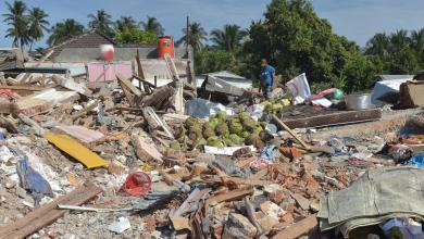 Photo of مقتل المئات في زلازل أندونيسيا