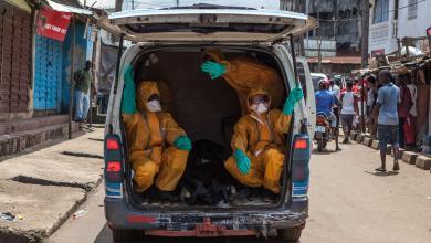 انتشار مرض الإيبولا في الكونغو