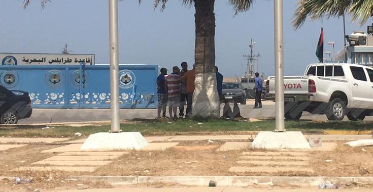 قاعدة بوستة البحرية في طرابلس